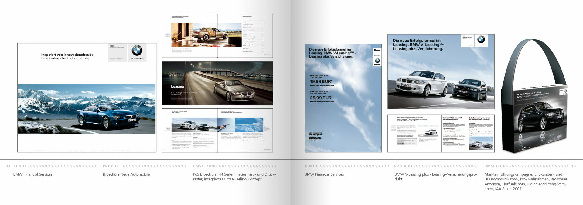 BMW Group Works 2001-2009 Booklet 14-15