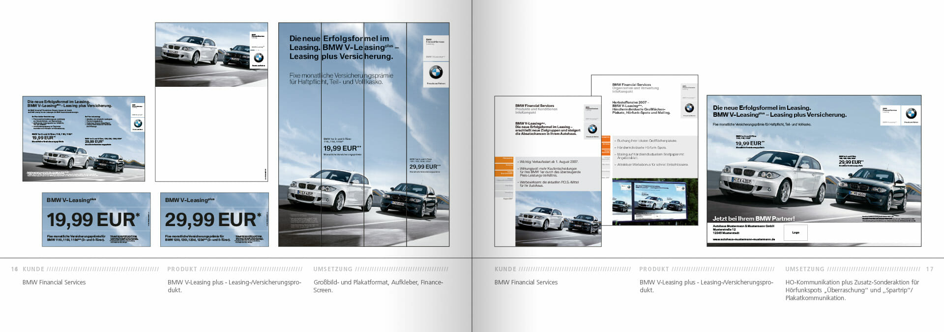 BMW Group Works 2001-2009 Booklet 16-17