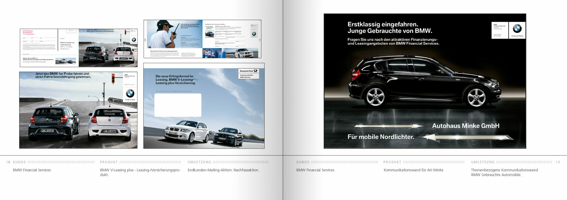 BMW Group Works 2001-2009 Booklet 18-19
