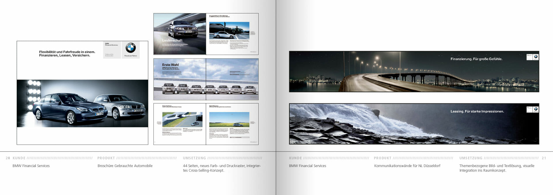 BMW Group Works 2001-2009 Booklet 20-21