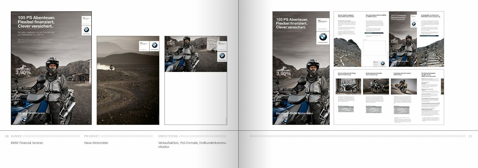 BMW Group Works 2001-2009 Booklet 22-23