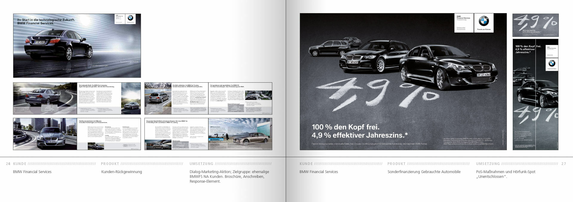 BMW Group Works 2001-2009 Booklet 26-27