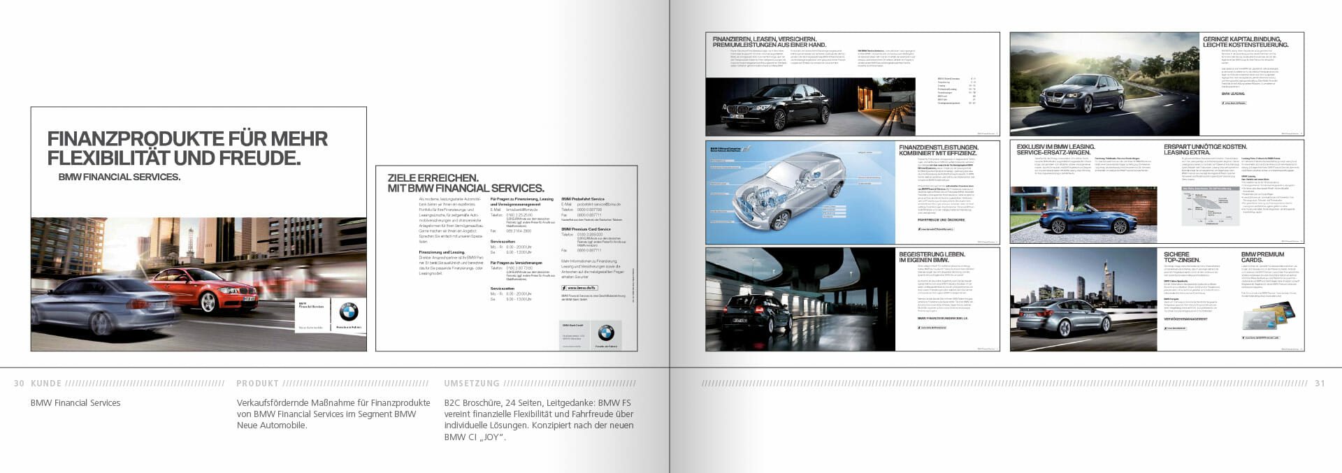 BMW Group Works 2001-2009 Booklet 30-31