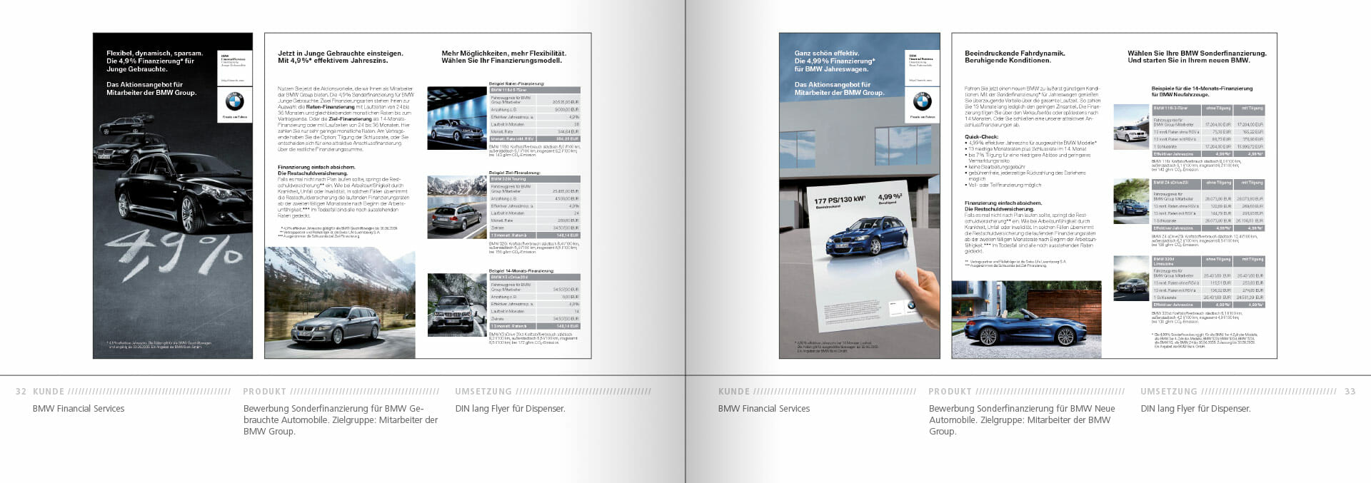 BMW Group Works 2001-2009 Booklet 32-33
