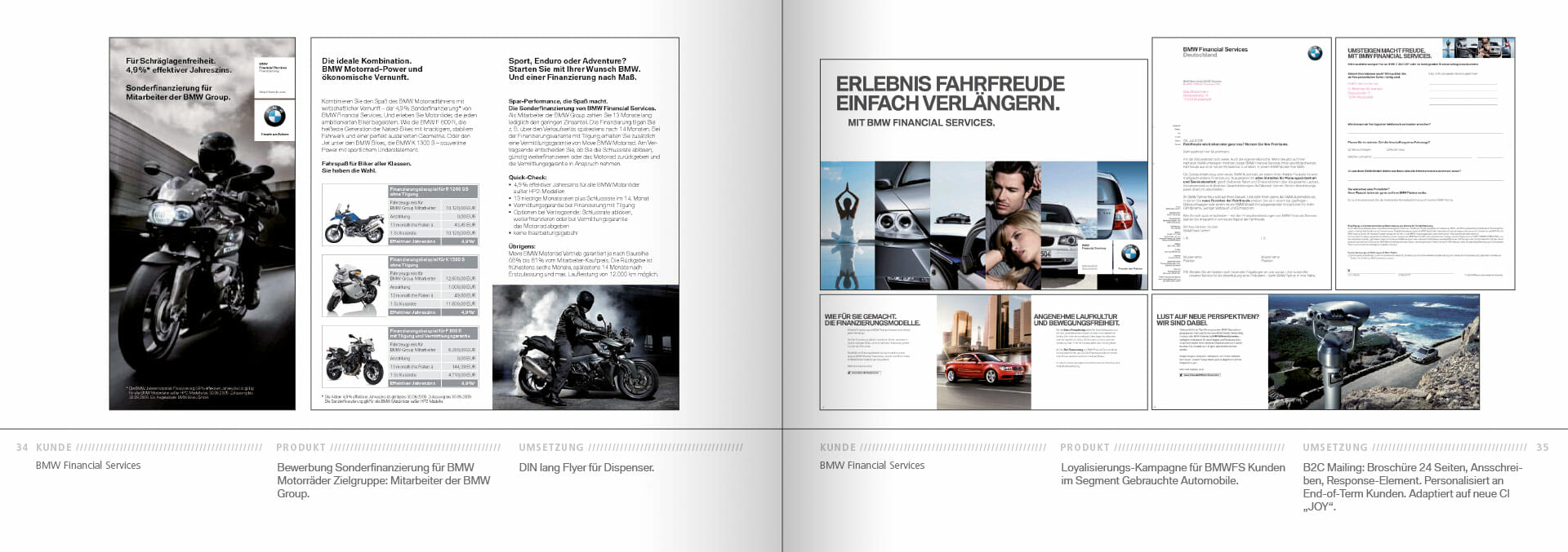 BMW Group Works 2001-2009 Booklet 34-35