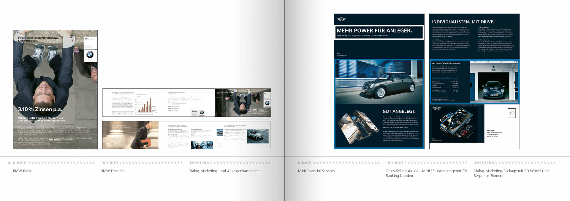 BMW Group Works 2001-2009 Booklet 8-9