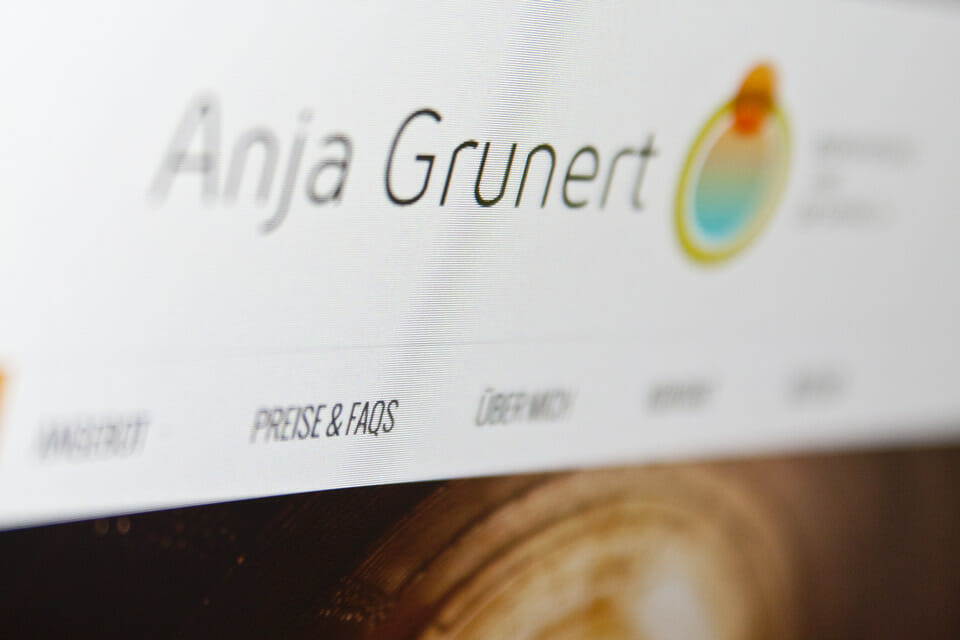 Anja Grunert Website 2014 Preview