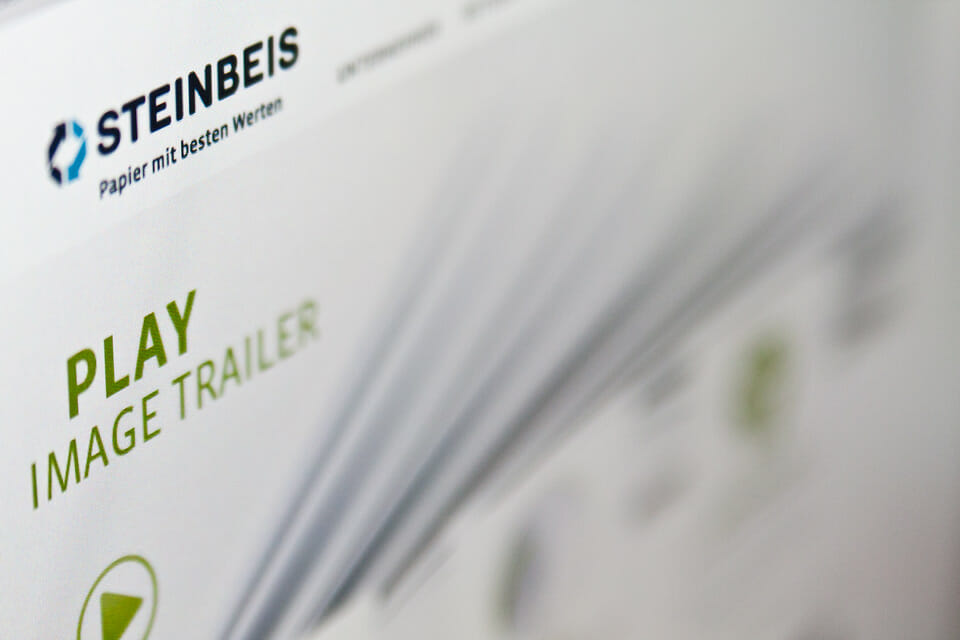 Steinbeis Papier Website 2012 Preview