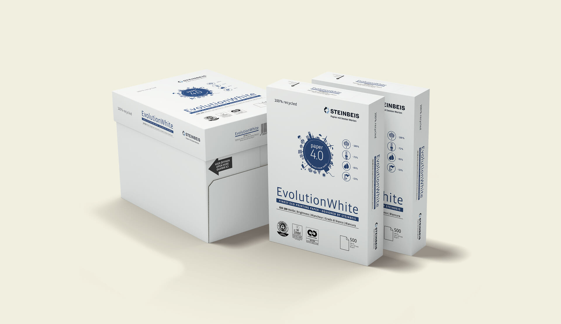 Steinbeis Papier Packaging Redesign 2015 Box und Ries