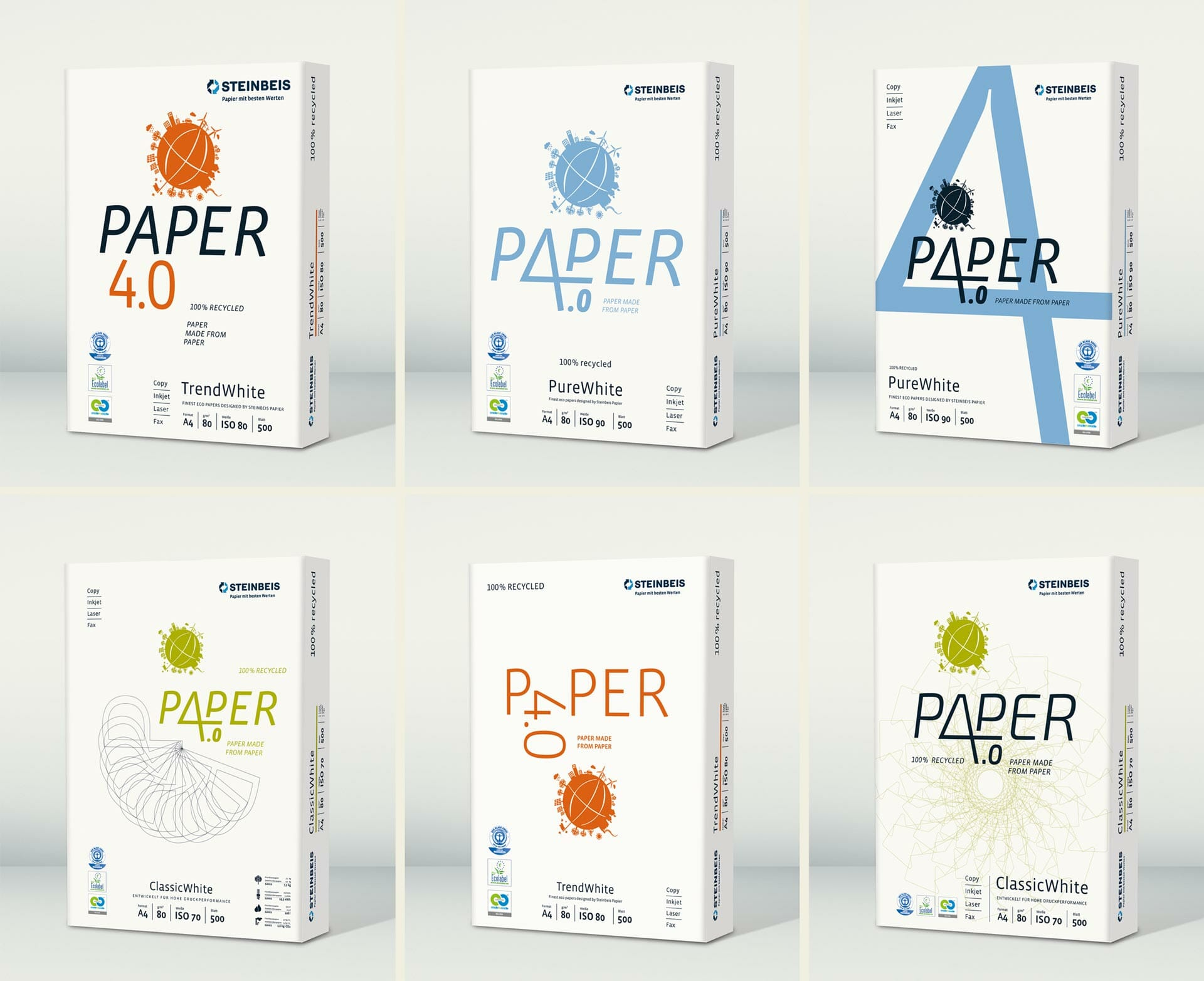 Steinbeis Papier Packaging Redesign 2015 rejected