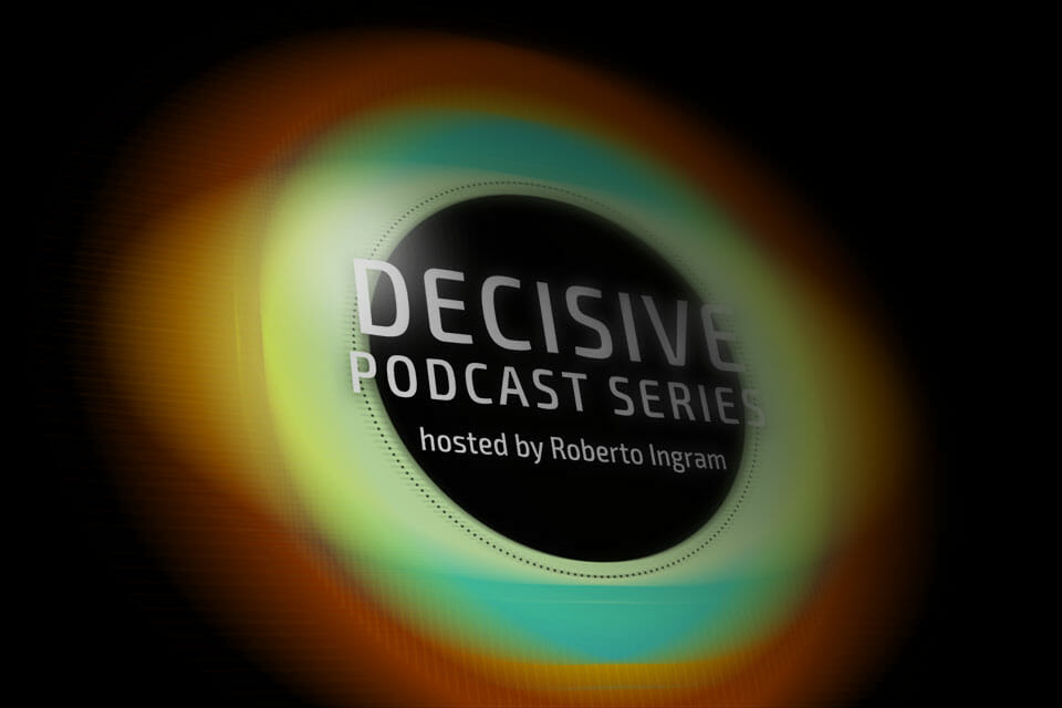 Decisive Podcast Cover Design Preview